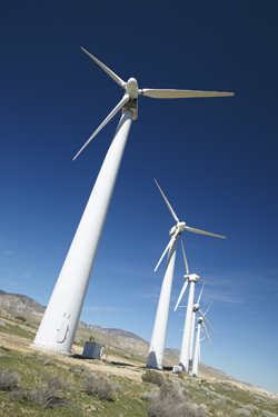 Clean Energy at Bicycle City - Windturbines